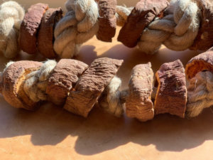 DIY Sweet Potato Rope Chew For Dogs
