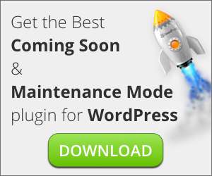 The Best Coming Soon Plugin for WordPress